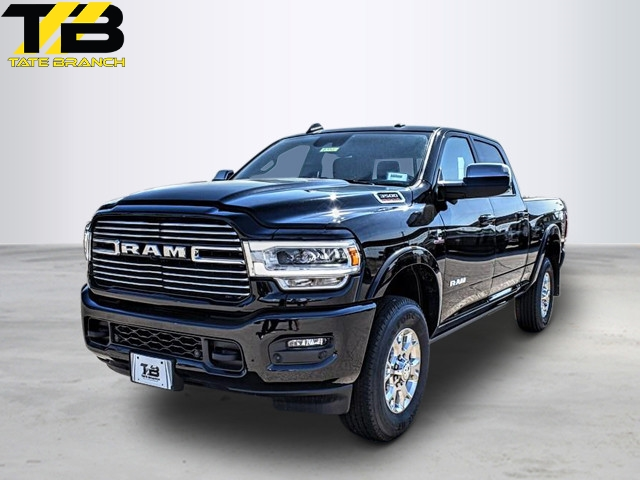 New 2019 RAM 3500 LARAMIE 4X4 CREW CAB 6'4 BOX