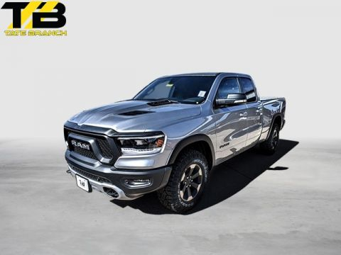 New 2019 RAM All-New 1500 REBEL 4X4 QUAD CAB 6'4 BOX