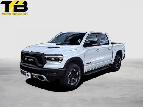 New 2019 RAM All-New 1500 REBEL 4X4 CREW CAB 5'7 BOX
