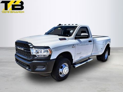 New 2019 RAM 3500 TRADESMAN 4X4 REG CAB 8' BOX